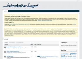 forums.interactivelegal.com