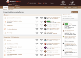 forums.knownhost.com