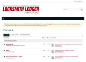 forums.locksmithledger.com