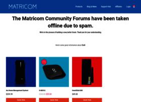 forums.matricom.net