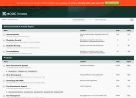 forums.modx.com