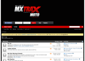 forums.mxtrax.co.uk