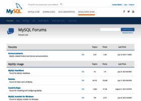 forums.mysql.com
