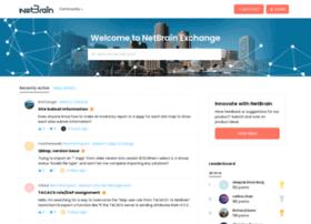 forums.netbraintech.com
