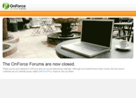 forums.onforce.com