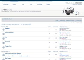 forums.oscss.org