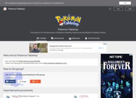 forums.pokemontabletop.com