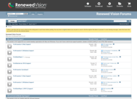 forums.renewedvision.com