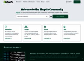 forums.shopify.com