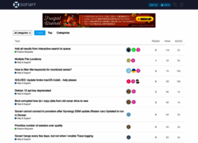 forums.sonarr.tv