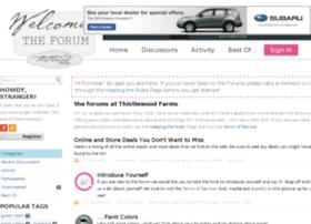 forums.thistlewoodfarms.com