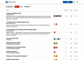 forums.tversity.com