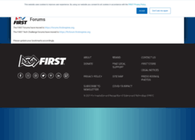 forums.usfirst.org