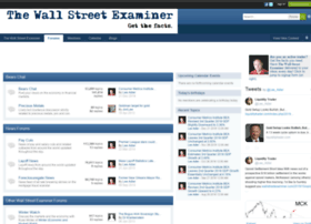 forums.wallstreetexaminer.com