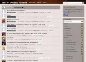 forums.warofomens.com