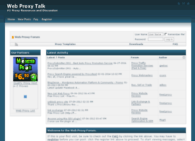 forums.webproxytalk.com