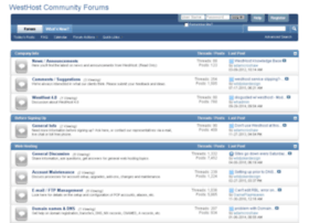 forums.westhost.com