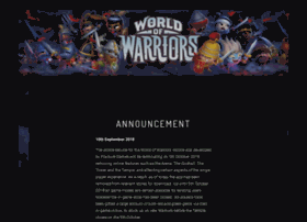 forums.worldofwarriors.com
