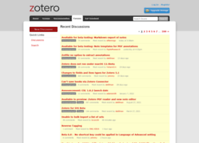 forums.zotero.org