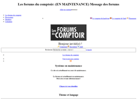 forumsducomptoir.com