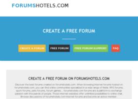 forumshotels.com