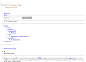 forumsolvay.be