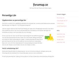 forumup.se