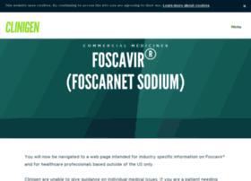 foscavir.com