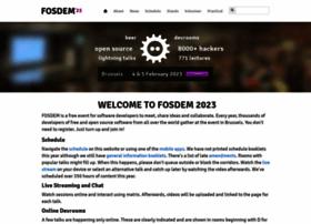 fosdem.org