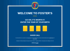 fosters.co.uk