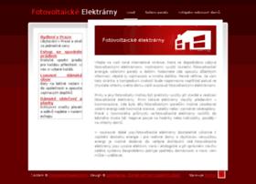 fotovoltaickeelektrarny.info