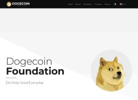 foundation.dogecoin.com
