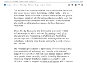 foundation.processing.org