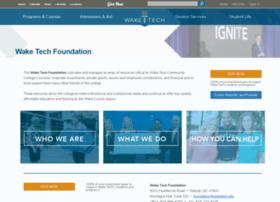foundation.waketech.edu