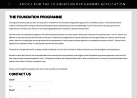 foundationprogrammeguru.co.uk