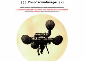 foundsoundscape.com