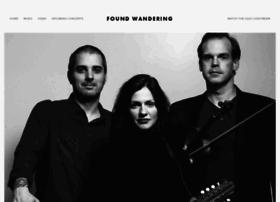 foundwandering.com