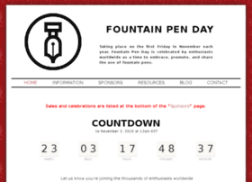 fountainpenday.org