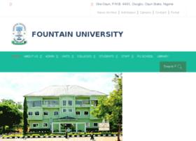 fountainuniversity.edu.ng