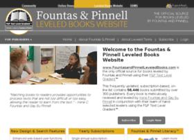 fountasandpinnellleveledbooks.com