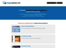 fourgon-passion.forumpro.fr
