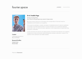 fourier.space
