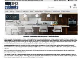 fourlesscabinets.com