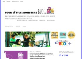 fourlittlemonsters.com