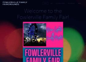 fowlervillefamilyfair.com