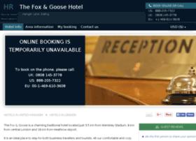 fox-and-goose-london.hotel-rez.com