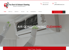 foxductcleaning.com