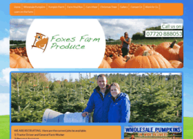 foxesfarmproduce.co.uk