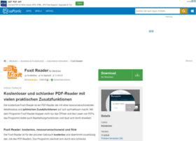 foxit-pdf-reader.softonic.de