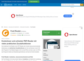 foxit-reader.softonic.de